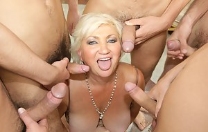 MILF Group Sex Porn Pictures